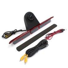 Фирменная Новинка CCD задним ходом камеры заднего вида светодиодные стоп для mercedes/Sprinter/VW/Crafter