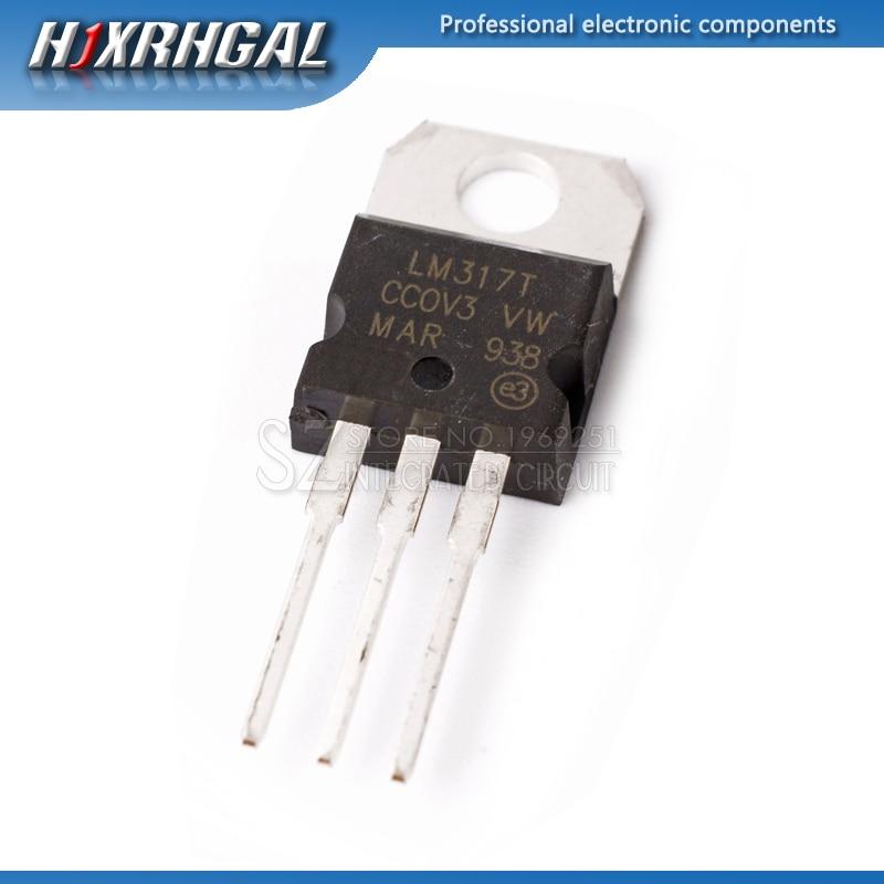 10 шт., регулируемый триодный транзистор LM317T LM317 TO 220 TO220|Интегральные схемы|   | АлиЭкспресс