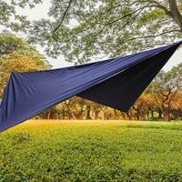 Waterproof Sail Canopy Sunshade Rain Fly UV Resistant Sun Shelter Outdoor Canopy Garden Shade Sail Awning Camping Shade Cloth