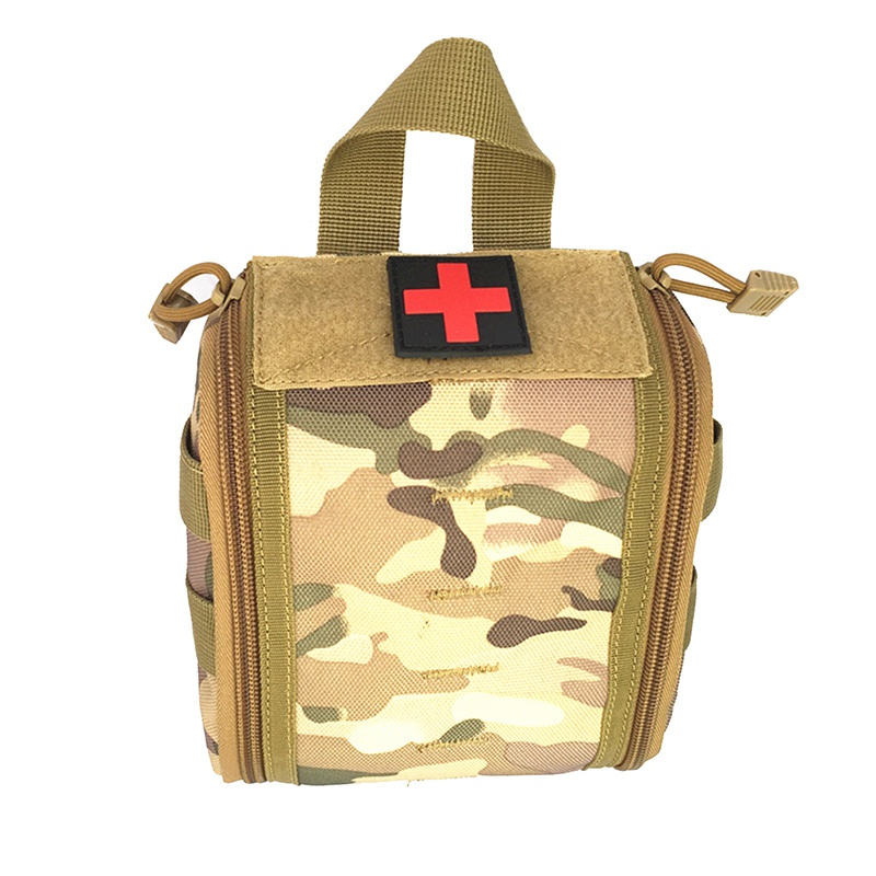 Camping Tactical Molle Medical Bag Kit Pouch Emergency Survival Gear Bag First Aid Kit Pouch Tool EDC Hunting Utility Belt| |   - title=