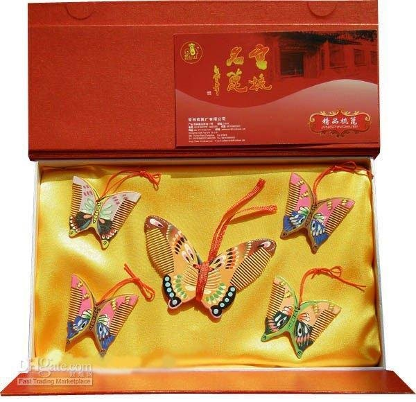 fly a good gift for business or friend-cai die fen fei lihe New!boxwood color butterfly blessing and love big or retail a good gift for weddin new guaranteed 100