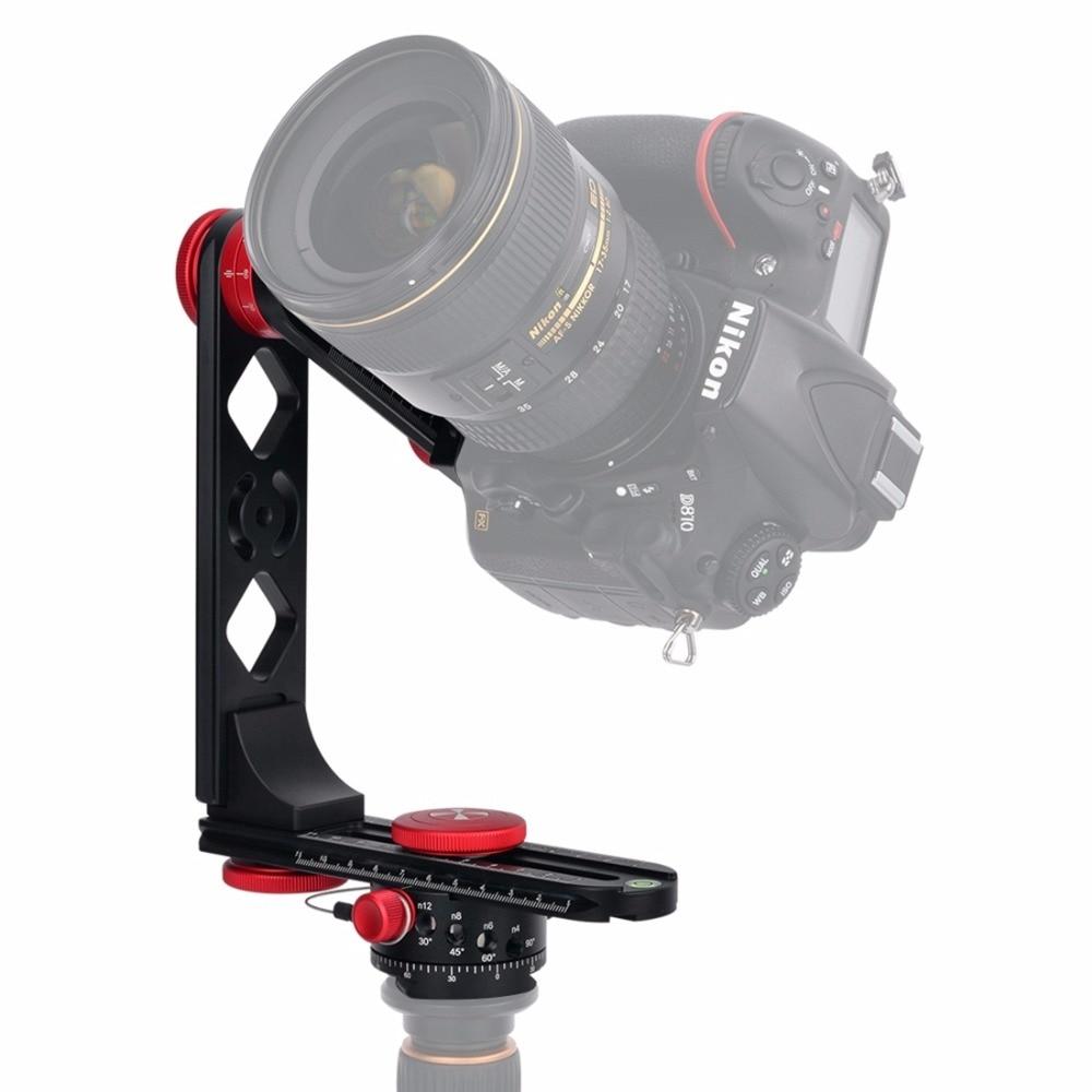 PULUZ 720 Degree Camera Panoramic Aluminum Alloy Tripod Ball Head kits &3/8 Quick Release Plate&1/4''Screw Fixed Plate for DSLR|release plate|quick release plate|quick plate - title=