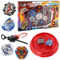 2018 New Combination Beyblade Metal Fusion Set 4pcs Beyblades With Launchers Bayblade Arena Constellation Spinning Top