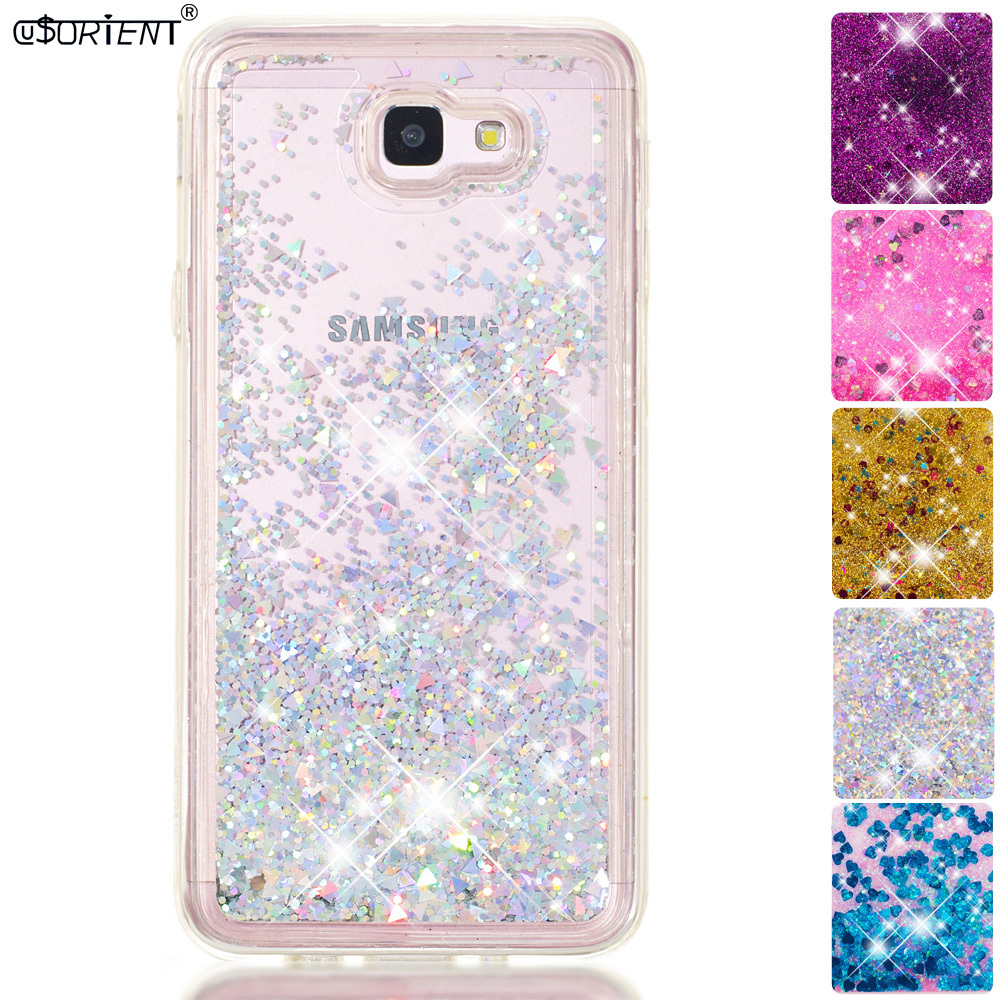 Phone Bags & Cases Devoted For Samsung Galaxy J5 Prime On5 2016 Soft Glitter Dynamic Liquid Quicksand Case Sm-g570f Sm-g570f/ds Fitted Silicone Cover Funda Cellphones & Telecommunications