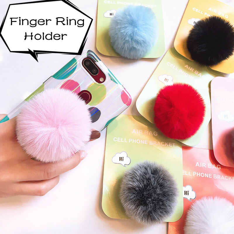 Univeral Lazy Mobile Phone Holder Accessory cute Plush Color