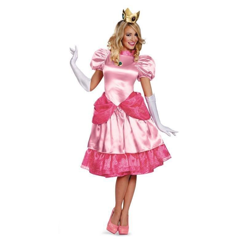 Melocotón princesa traje adulto mujeres fiesta de disfraces de ...