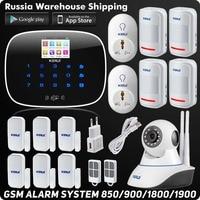 Wireless Kerui G19 IOS Android APP Remote Control GSM SMS Home Alarm System Security Burglar Smart