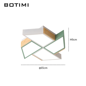 Image 5 - BOTIMI 220V LED Decke Lichter In Windmühle Form Für Wohnzimmer Lamparas de techo Schlafzimmer Jungen Zimmer Decke lampe zimmer Luminare
