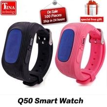 Продажа Анти потерял Q50 OLED ребенок gps трекер SOS Smart мониторинга позиционирования телефон дети gps часы совместимы IOS и Android VS xiaomi