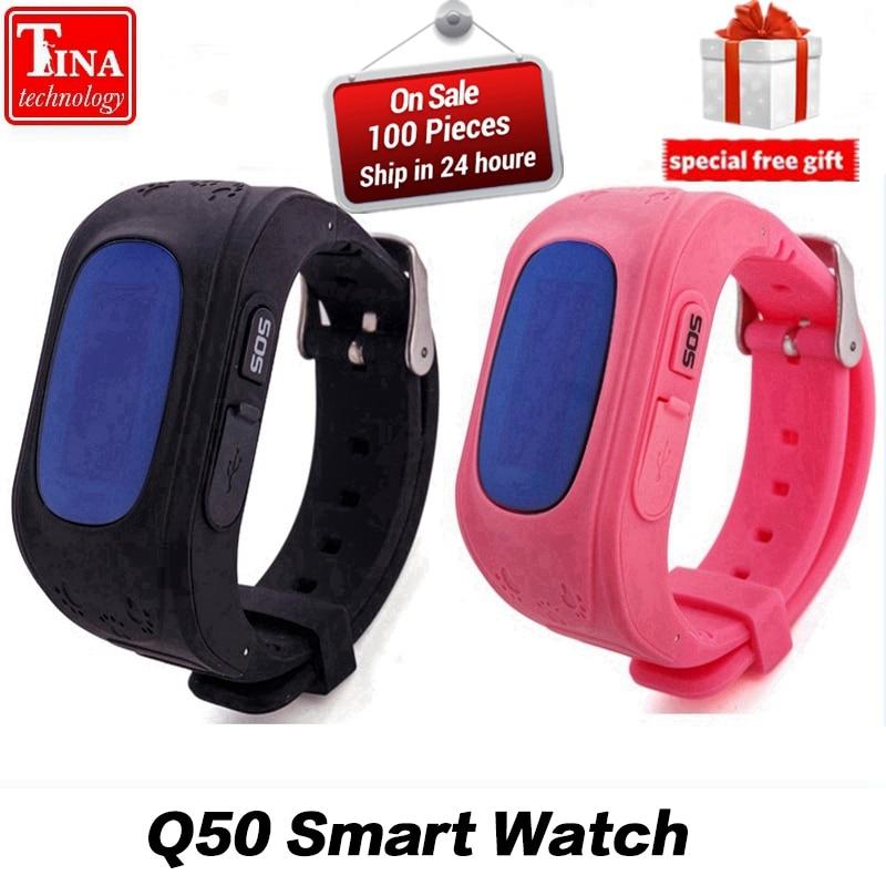 Anti Verloren Q50 OLED Kind GPS Tracker SOS Smart Überwachung positionierung Telefon Kinder GPS Uhr Kompatibel IOS & Android VS Xiaomi
