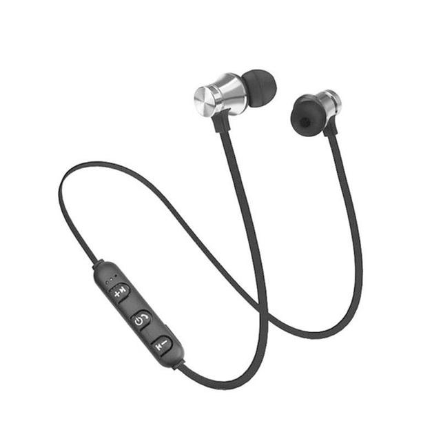 New Magnetic Bluetooth Earphone V4.2 Stereo Sports Waterproof Earbuds Wireless in-ear Headset with Mic for  ALL Phones