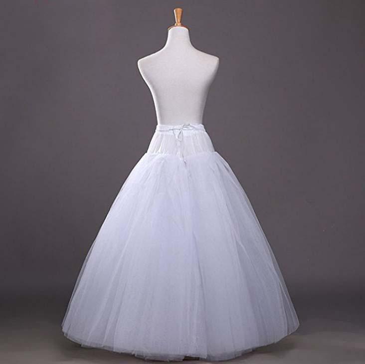 4 Layers Elastic Waist Full Wedding Dress Crinoline Tulle Petticoats Underskirt  Petticoat Ball Gown Crinoline Slip Underskirt