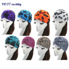 Free shipping VOT7 vestitiy New Multifunctional Turban Ear Cap hat Beauty Big Satin Bonnet Beautiful Sep 15