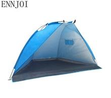 ENNJOI One Bedroom Sun Shelter Tent for Beach Summer Outdoor UV Tarp Sun Shade Camping Fishing Awning Sunshade Beach Tent