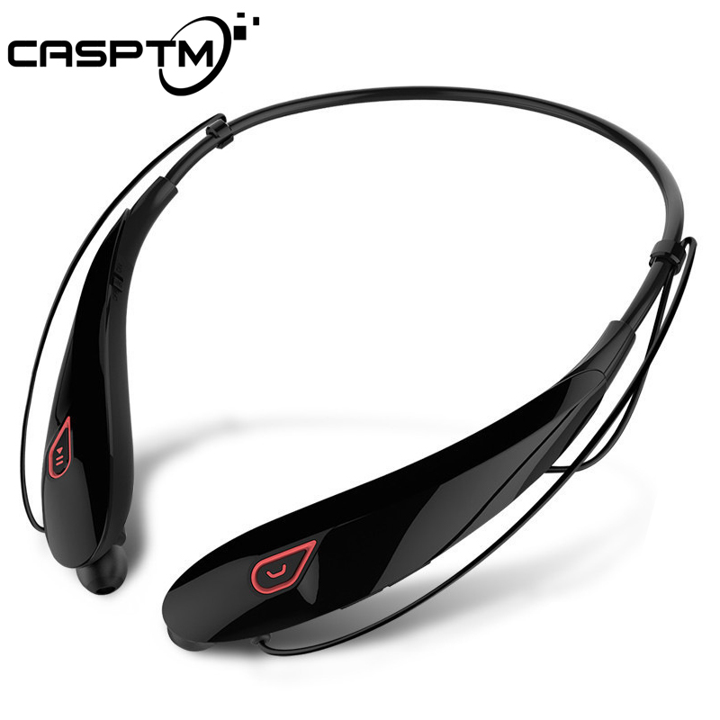 CASPTM Intelligent Magnetic Wireless Bluetooth Headphones Sport Stereo Headset Music Earphone Handsfree Waterproof Auriculares awei a920bls bluetooth earphone wireless headphone sport headset with magnet auriculares cordless headphones casque 10h music