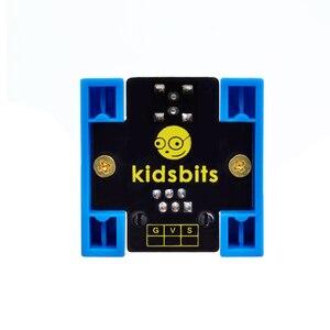 Image 5 - Kidsbits كتل الترميز سمكة البيرانا LED وميض وحدة لاردوينو البخار EDU (أسود و صديقة للبيئة)