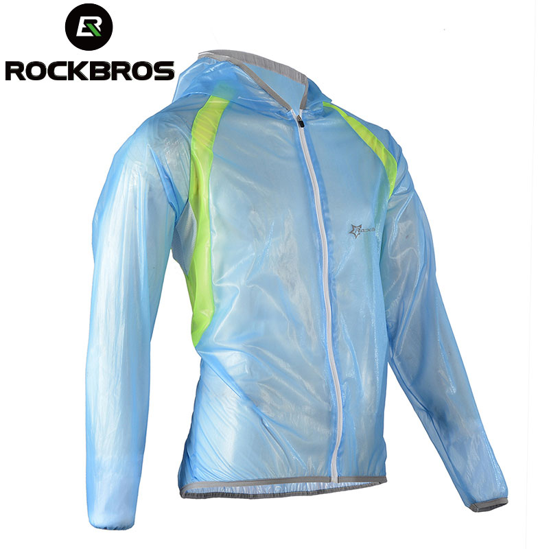 ROCKBROS MTB Cycling Jersey MultiFunction Jacket Rain Waterproof Windproof TPU Raincoat Bike Bicycle Equipment Clothes 3 Colors