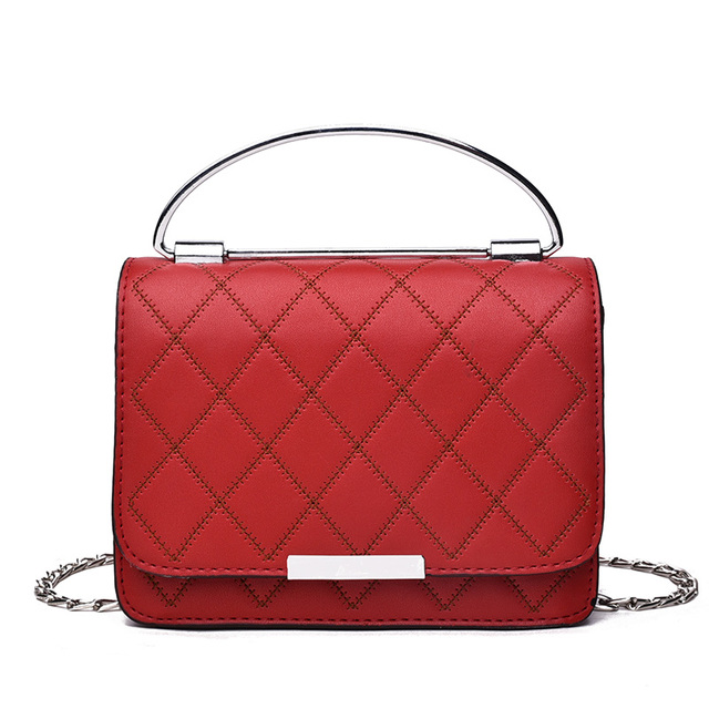 9982e6dc578 Aliexpress.com : Buy Bolsa Feminina Women Bag Trendy Bags Fashion Small  handbags Plaid Solid Color Women bags Square Pack Shoulder Bag Crossbody  from ...