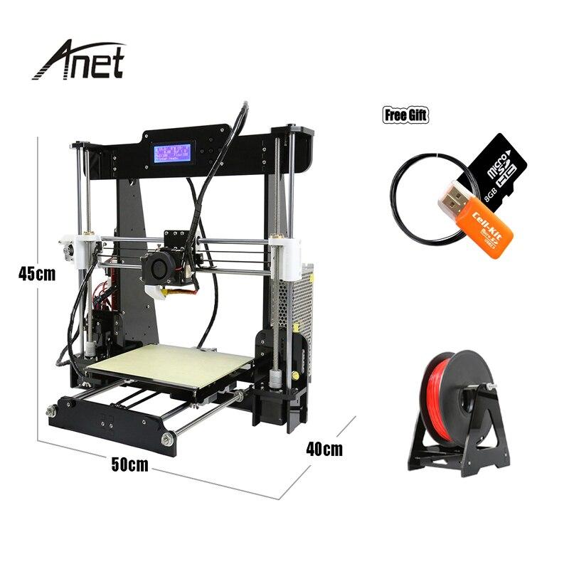 2019 топ продаж Анет A8 A6 фабрики продаем оригинальные 3D принтеры комплект DIY 3 D принтер автоматическое выравнивание 3D принтеры металла с SD кар