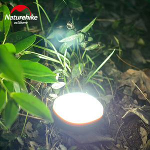 Image 2 - Naturehike Portable Outdoor LED Camping Light Magnetic Tent Lamp Hanging Tent Emergency Led Lights Two Colors