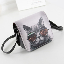 New Desinger Women Messenger Bags 3D Printing Shoulder Bag Kawaii Cat Travel for Girls bolsos Hobo Beach Bag Crossbody W1