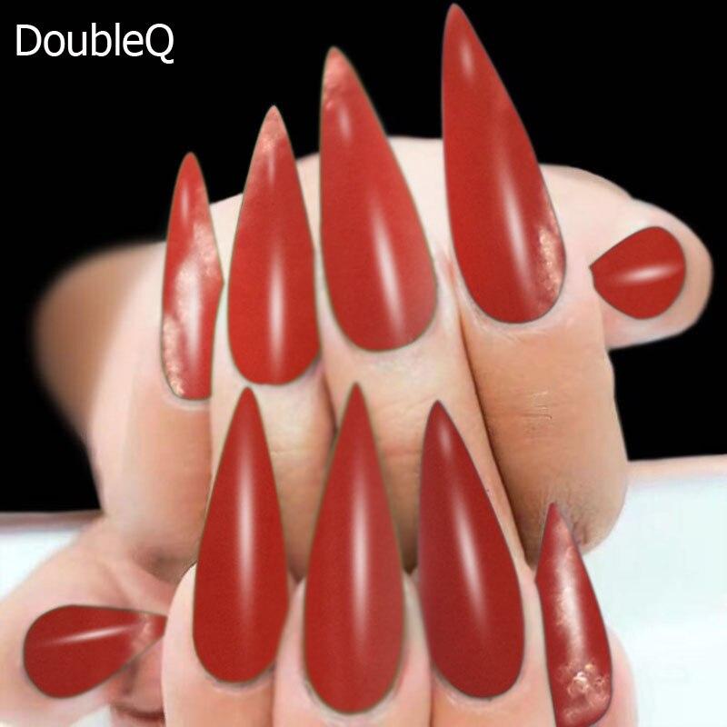 2g/Box Red Dipping Powder Effect Nail Design Nail Glitter Neon ...