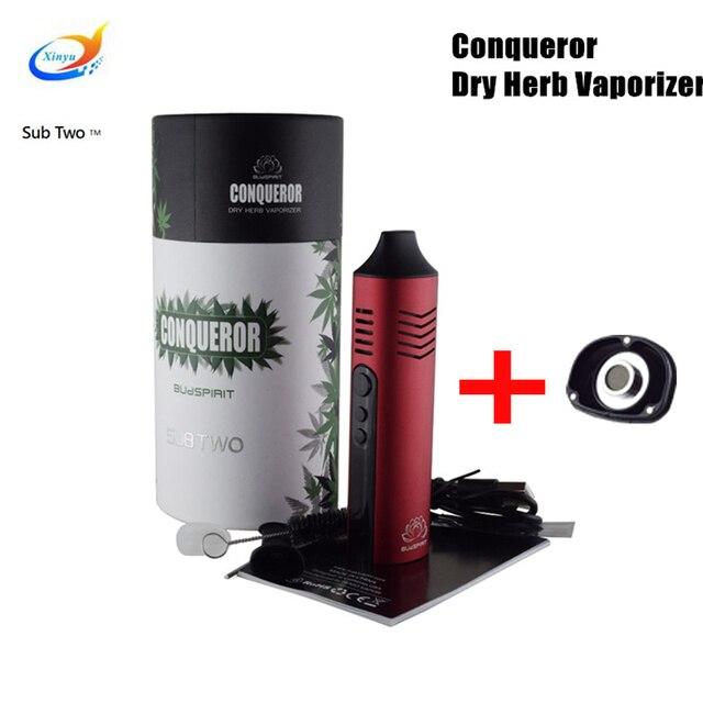 Conquérant herbe sèche vaporisateur 2200 mah batterie Vape stylo Vaper Cigarette électronique vape Kit vapeur à base de plantes vaporisateur e cigarette