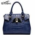 Hot, 2017 designer Brand Leather bolsas femininas Women bag ladies Pattern Handbag Shoulder Bag Female Tote Sac Crocodile Bag