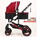 Cochecito de bebé Actividad y Engranaje de Madre y Niños cochecito Plegable portable aleación de aluminio estilo Europeo toda la venta de moda de calidad