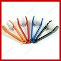 5 unids/lote Mini Colores de Los Vidrios De Microfiber Cleaner Útil