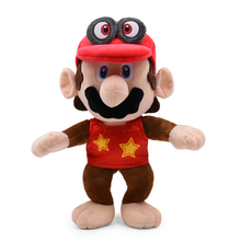 Anime Super Mario Odyssey Bros Cappy Odyssey Mario Monkey Peluche Doll Plush Soft Stuffed Toy Great Christmas Gift For Children цена и фото