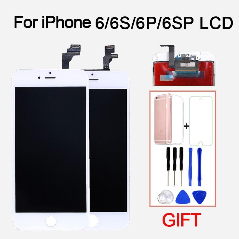 AAA LCD de Remplacement de L'assemblée D'affichage pour l'iphone 6G 6 Plus 6 s 6 sPlus Lcd Écran Digitizer Pièces Tactile panneau