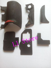 New OEM Rubber Six Parts Replacement Part For Nikon D700 -6 Parts With Tape Digital Camera