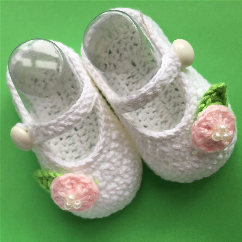 Crochet Baby Shoes, Baby Slippers