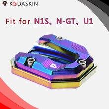 KODASKIN Motorcycle CNC Aluminum Side Stand Enlarge for N1S N-GT U1 new original high precision nj20 u1 n