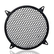 8 Inch Black Metal Mesh Round Car Subwoofer Speaker Cover Speaker Grill Part Speaker Protector
