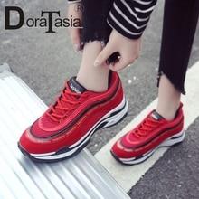 DORATASIA INS Hot Sale mixed-color Women Spring Sneakers Com