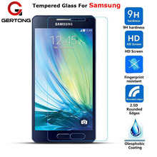 GerTong 9H Screen Protecter Tempered Glass For Samsung Galaxy A3 A5 A7 J1 J2 J3 J5 J7 2015 2016 S5 S4 S6 G530 G360 Note 5 4 Film
