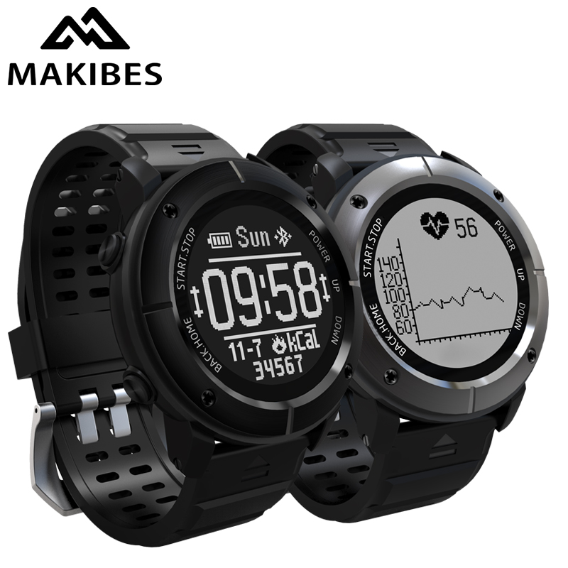 NEW Makibes G06 Smart Watch Multisport GPS Watch Heart Rate Monitor Waterproof Smart Watch Activity Tracker for IOS Android makibes ex18 smart watch silver