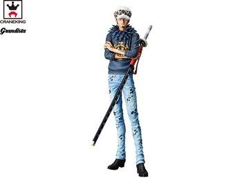 "100% Original Banpresto Grandista THE GRANDLINE MEN Collection Figure – Trafalgar Law from ""ONE PIECE"""