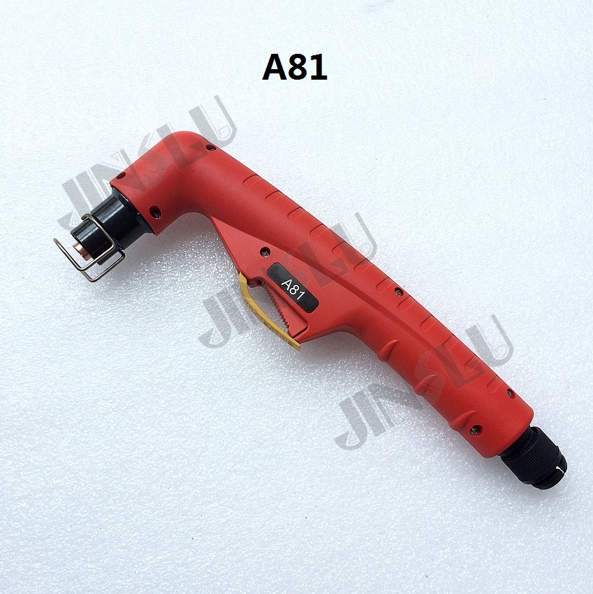 OEM Trafimet Style A81 Torch Head Air-cooled Plasma Torch for Cutter Cutting Machine welding machine parts oem trafimet style plasma torch straight a141 torch head air cooled for cnc plasma cutting machine central connector