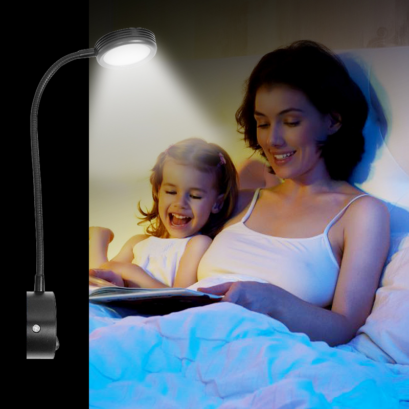 Led Bathroom Lights Wall lights for Home 220v Flexible Wall Sconce with Switch Bathroom Lights Modern Bedroom Wall Lamps