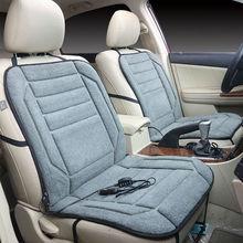 Автомобильные подушки для сидений с подогревом, 12 В, автомобильные сиденья, кресла с электроподогревом, автомобильные теплые подушки для сидений