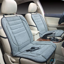 רכב מחומם מושב כריות 12V רכב מושב דוד מכסה כרית חשמלי מחומם מושבים לרכב חם מושב כריות