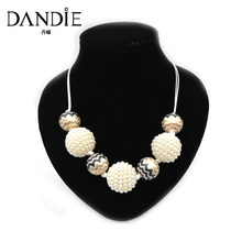 Dandie New Style Handmade Pattern Beads Necklace For Women, Choker Statement Necklace