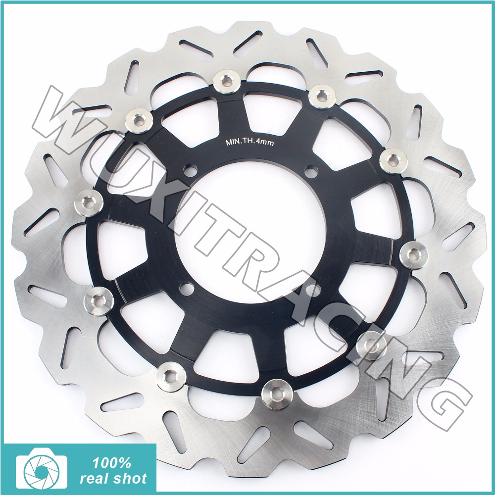 Oversize 320MM Front Brake Disc Rotor for KAWASAKI KX 125 250 500 KX 250 F KLX 250 300 650 R 93-07 94 95 96 97 98 99 00 01 02 03 94 95 96 97 98 99 00 01 02 03 04 05 06 new 300mm front 280mm rear brake discs disks rotor fit for kawasaki gtr 1000 zg1000