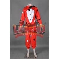 Harley quinn Cosplay Costume jumpsuit Pajama cosplay costume