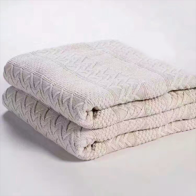 Adream New Cotton Berber Fleece Blanket Thick Winter