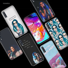 Halsey Paroles Badlands étui pour samsung Galaxy A50 A70 A80 A60 A40 A30 A20 A10 M40 M30 M20 M10 A6 A8 Plus 2018 TPU Téléphone Sacs(China)