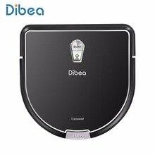 D960 Dibea Robot Robot Odkurzacz Inteligentny z Mokrym Mopem Aspirador z Krawędzi Czyszczenia Technologii dla Zwierzaka Włosy Cienkie Dywany